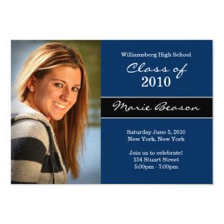"Graduation Invitation Class of 2011 5"" X 7"" Invitation Card"