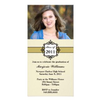 Graduation Invitation Class of 2011 Photo Greeting Card