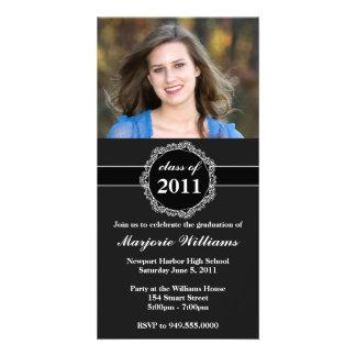 Graduation Invitation Class of 2011 Personalized Photo Card