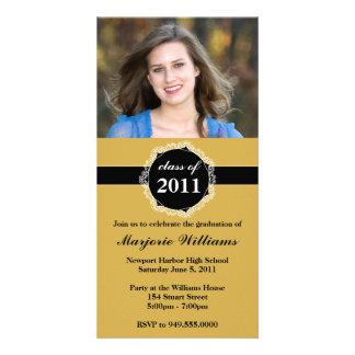 Graduation Invitation Class of 2011 Photo Card