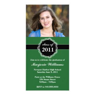 Graduation Invitation Class of 2011 Picture Card