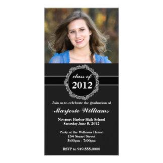 Graduation Invitation Class of 2012 Photo Cards