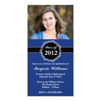 Graduation Invitation Class of 2012 Photo Greeting Card