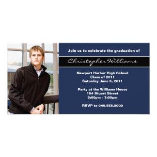 Graduation Invitation Class of 2013 Photo Greeting Card