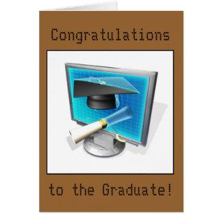 Graduation - IT/Computer Card