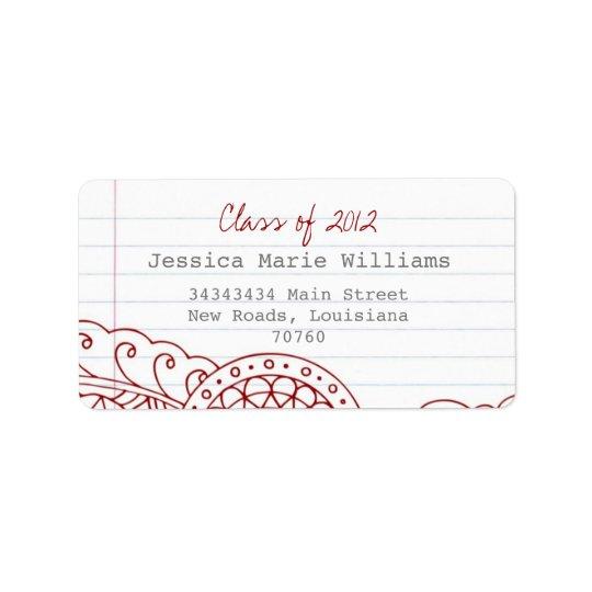 Graduation Label