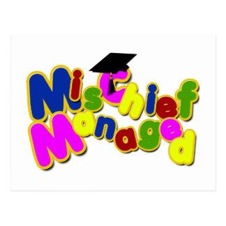Graduation - Mischief Managed! Postcard