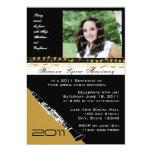 Graduation Music/ Clarinet 13 Cm X 18 Cm Invitation Card