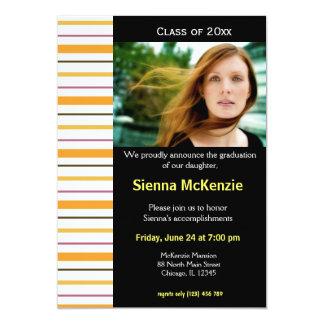 Graduation Open House 13 Cm X 18 Cm Invitation Card