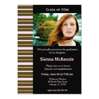 Graduation Open House 5x7 Paper Invitation Card