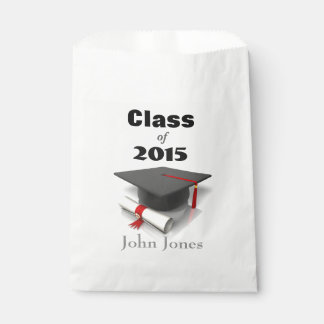 Graduation Party Customized Favor Bags