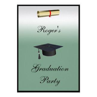 Graduation Party Formal Invitation Announcements