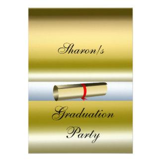 Graduation Party Formal Invitation Custom Invitations
