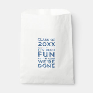 Graduation Party Fun Class of Your Year Custom Favour Bag
