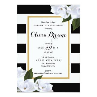 Graduation Party Invitation *Magnolia Stripe*