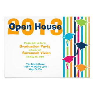 Graduation Party Open House Invitations