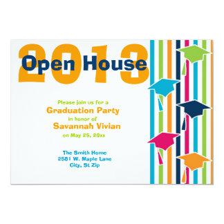 "Graduation Party Open House Invitations 5"" X 7"" Invitation Card"