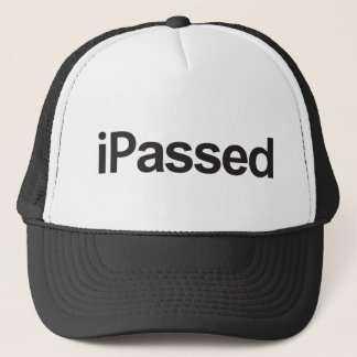 graduation passed your exams or driving test pass trucker hat
