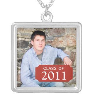 Graduation Photo Necklace