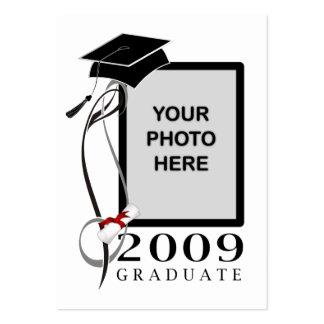 Graduation Photo Profile Cards Business Card Template