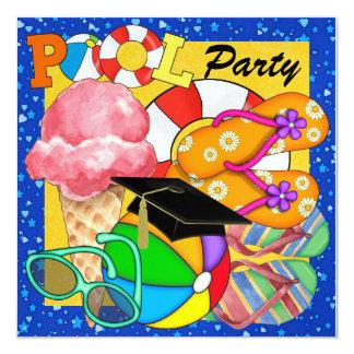 Graduation Pool Party - SRF Card