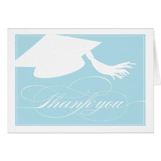 Graduation Thank You Card  |  Blue