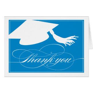Graduation Thank You Card     Blue