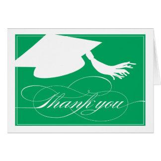 Graduation Thank You Card  |  Green