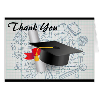 Graduation Thank You Note Card