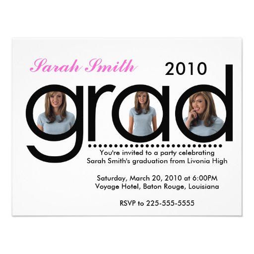 Graduation (Top 10 Views) Custom Announcement