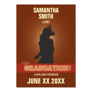 Graduation Tour Invitation (girl)