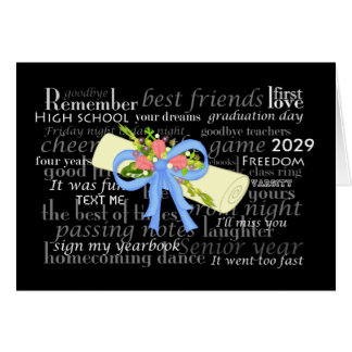 Graduation Vintage Diploma Pink Roses Girly Floral Greeting Card