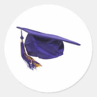 GraduationCap051009 Round Sticker