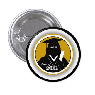 Graduations Class Of 2011 Gown Button 9