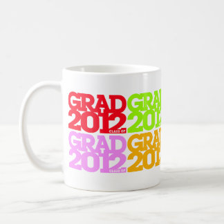Graduations Class Of 2012 Multicolors Mug