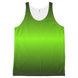 Graedient Lime™ Unisex All-Over Print Tank Top