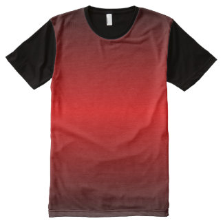 Graedient Red™ All-Over Print T-Shirt