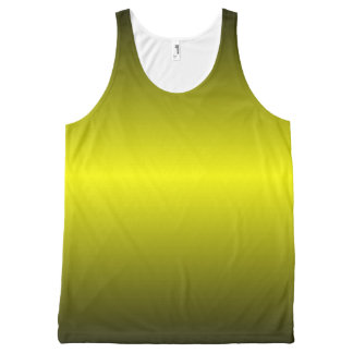 Graedient Yellow™ Unisex All-Over Print Tank Top