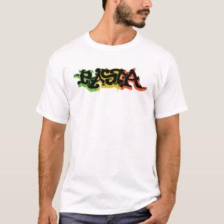 Graf Rasta Shirt with Reggae Colors and Black