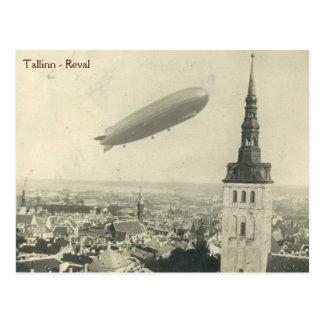 Graf Zeppelin in Tallinn vol.2 Postcard