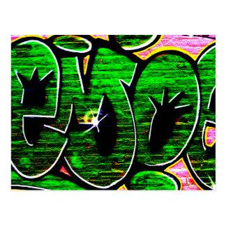 Graffiti 18 Postcard