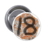 Graffiti 18th Birthday Gifts Pin