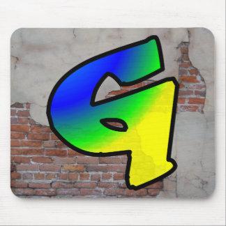 GRAFFITI #1 G MOUSE PAD