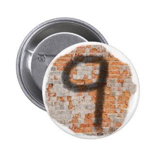 Graffiti 9th Birthday Gifts 6 Cm Round Badge
