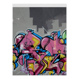 Graffiti - Abstract City Art Poster