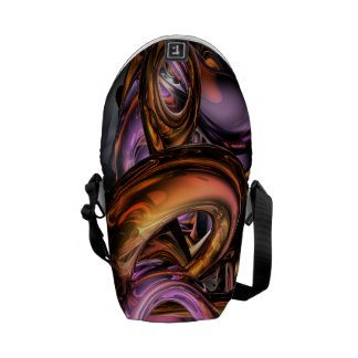 Graffiti Abstract Messenger Bag