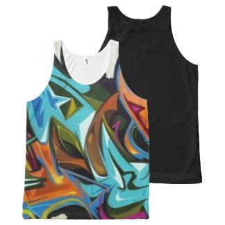 Graffiti All Over Print Shirt