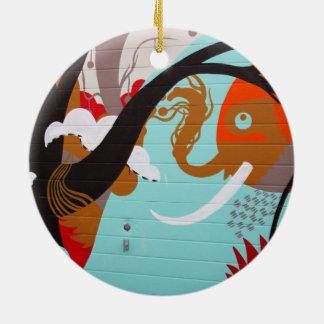 Graffiti Art Christmas Tree Ornaments