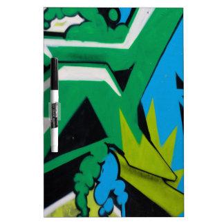 graffiti Art Designs Dry Erase Board