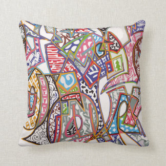 Graffiti Art Pillow